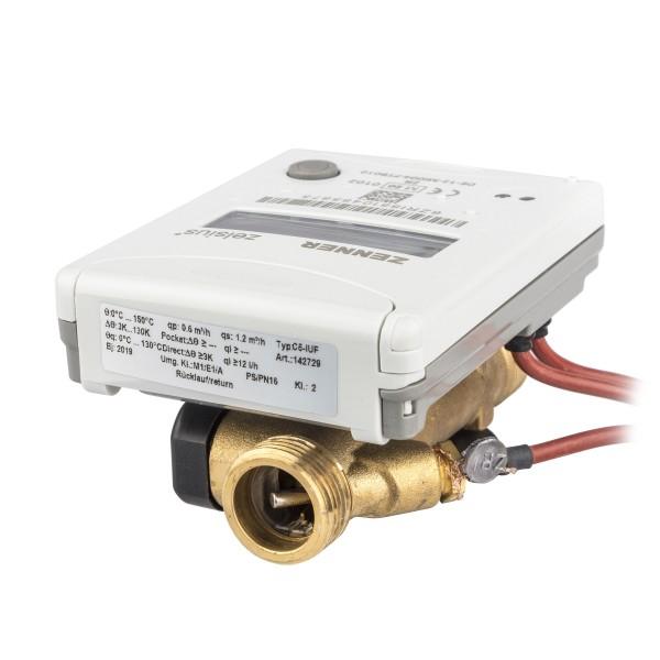 Wärmezähler Qn 0,6 Baulänge 110 mm DN 15 Ultraschall (IUF) 4 S