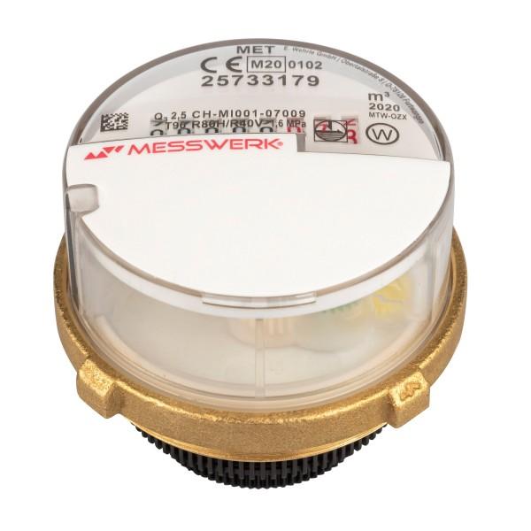 Warmwasser Messkapsel für Metrona MK 3 Q3 = 2,5