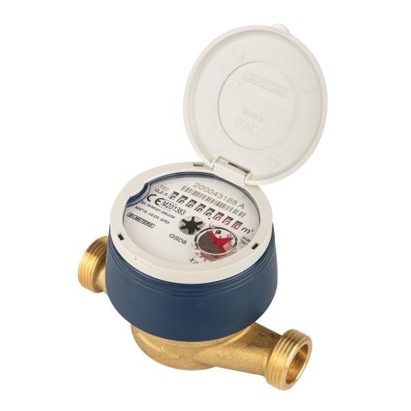 Wasserzähler Q3 = 2,5 ( Alt QN 1,5 ) Kaltwasser, BL 110 mm 3/4 AG - mit UV Schutzhaube