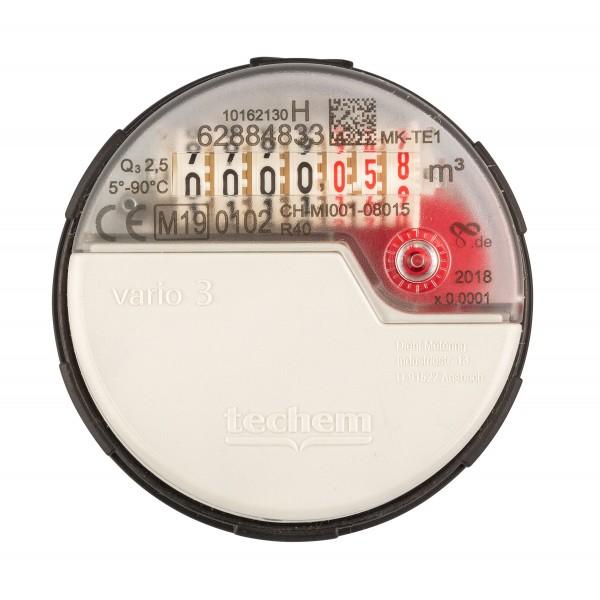 Messkapsel zu MK Vario S Warmwasser Techem