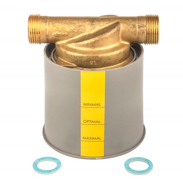 Einbauset zu Kapselzähler UP 3/4 Zoll Anschluss AG