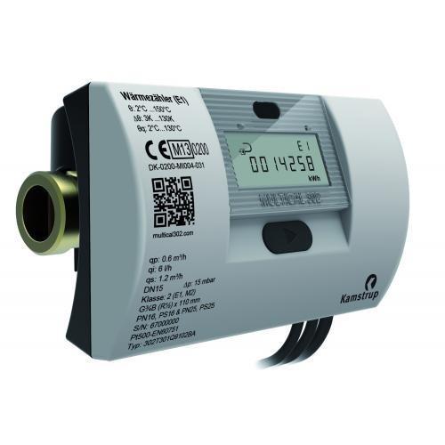 Qn 1,5 110 mm DN 15 Multical 302 Ultraschallwärmezähler