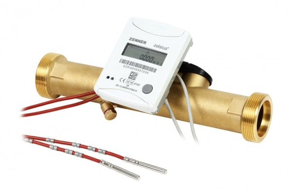 Ultraschall - Kompaktwärmezähler zelsius C5 IUF 3,5-150- 1 Kombi 6 mm Fühler 4s 130°C