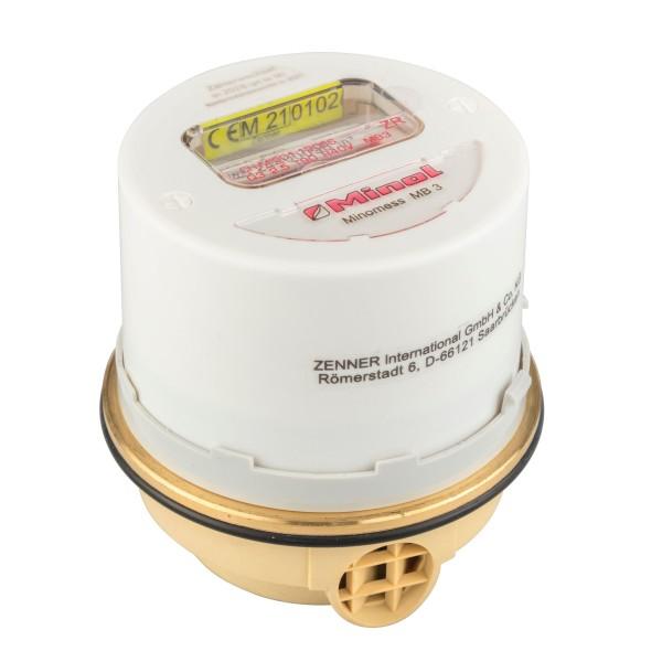 Minol passende Warmwasser Kapsel MB 3, Q3 = 2,5 ( Alt QN 1,5 )