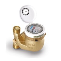 Warmwasserzähler MTW D Q3 = 4, 105 mm, 1 Zoll Fallrohr