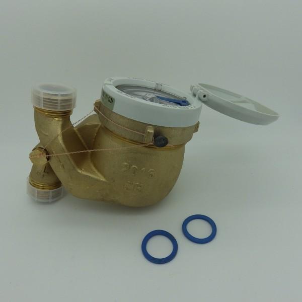 Zenner Wasserzähler QN 2,5 (DN20) für Fallrohr - Montage