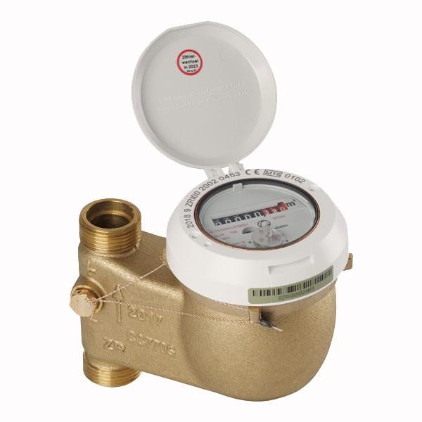Warmwasserzähler MTW D Q3 = 10, 150 mm, 11/4 Zoll Senkrecht