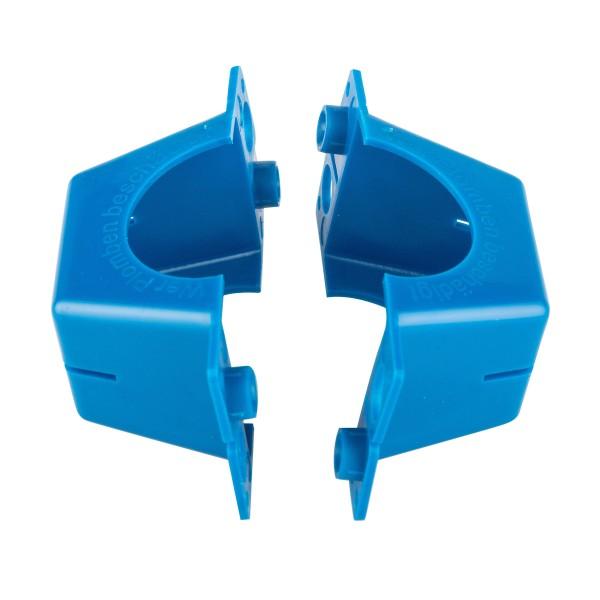 500 X Plomben für Wasserzähler QN 2,5 zweiteilig mit Bohrung