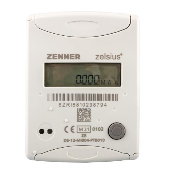 Eichjahr 2021 Zenner Wärmezähler QN 1,5 Zelsius C5 CMF