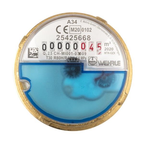 Allmess passende Messkapsel zu UP 6000 Q3 = 2,5 für Kaltwasser Eichung 2021