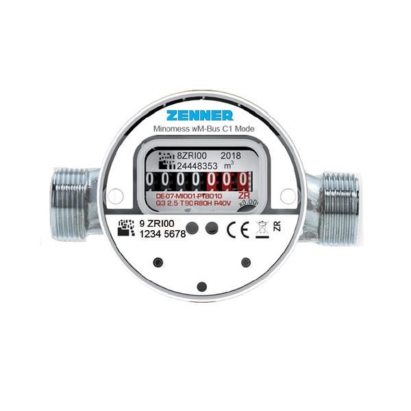 Kaltwasserzähler Q3 = 2,5 Baulänge 80 mm - 3/4 AG Funk 868MHz gemäß OMS