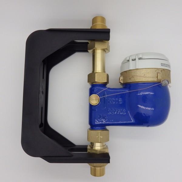 Zenner Wasserzähler senkrecht Q3 = 4 mit Bügel 3/4 Zoll
