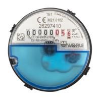 Messkapsel Techem passend, für Kaltwasser inkl. Profildichtung Q3 = 2,5 ( Alt QN 1,5 )