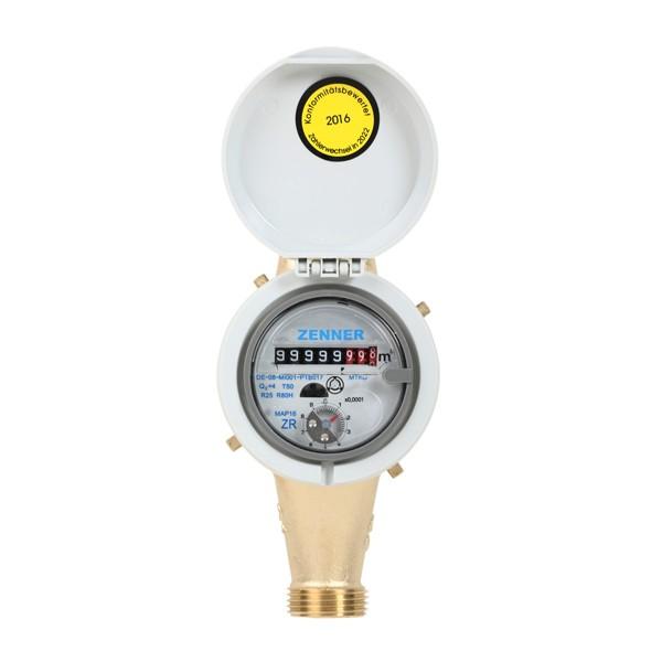 Wasserzähler MTKD M Q3 = 2,5 für Kaltwasser 50 Grad 165 mm 3/4 Zoll