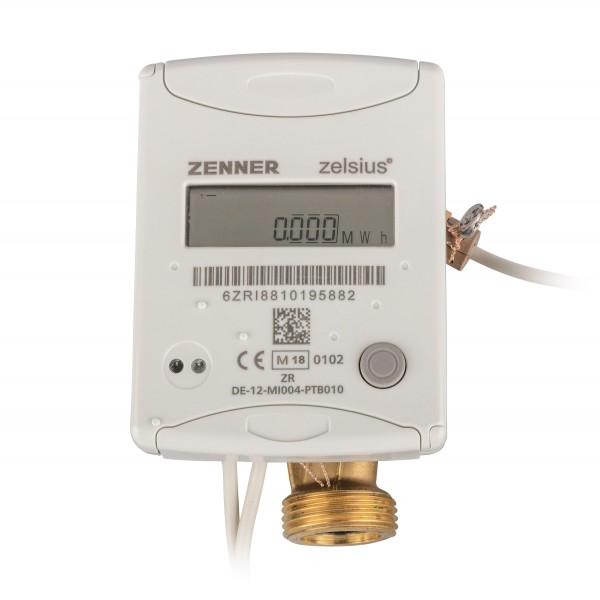 Zenner Wärmezähler QN 2,5 mit EAS1 Zoll C5 ISF