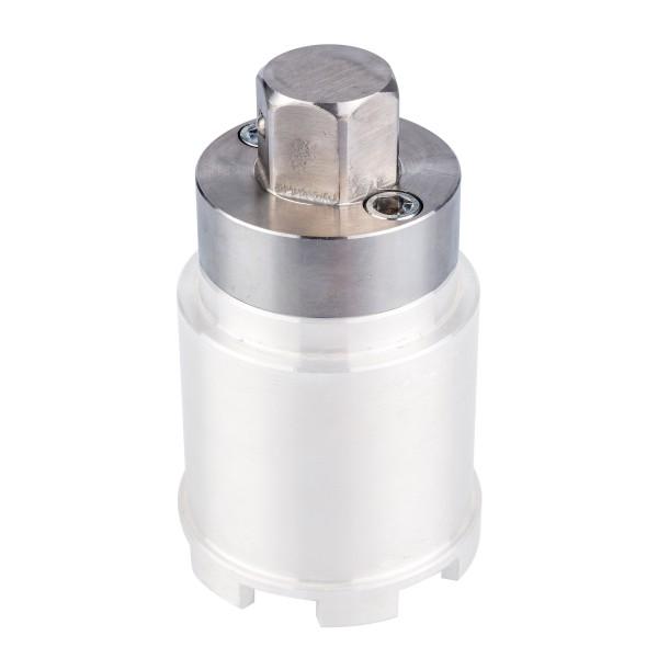 Universal Adapter mit SW 30 zu Edelstahl Montageschlüssel