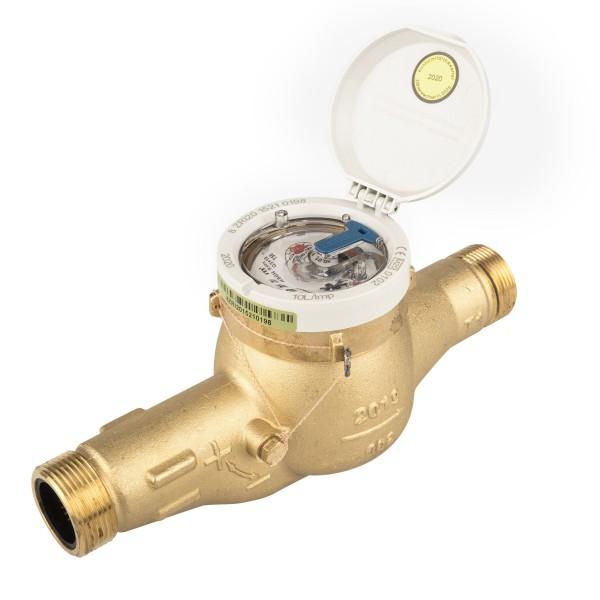 Hauswasserzähler Q3 = 10 ( Alt QN 6 ) (DN25) für waagerechte Montage, BL 260 mm
