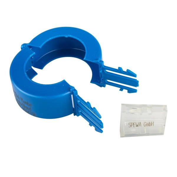 Paket Plomben blau Wasserzähler DN 15 mit Aufdruck 200 Stück