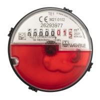 Messkapsel Techem passend, für Warmwasser inkl. Profildichtung Q3 = 2,5 ( Alt QN 1,5 )
