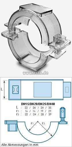 Zähler- / Rohrplombe Connection Lock QN 1,5 / 100 Stück