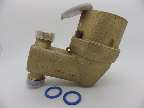 Zenner Patronenzähler QN 2,5 (DN20) senkrechte Montage