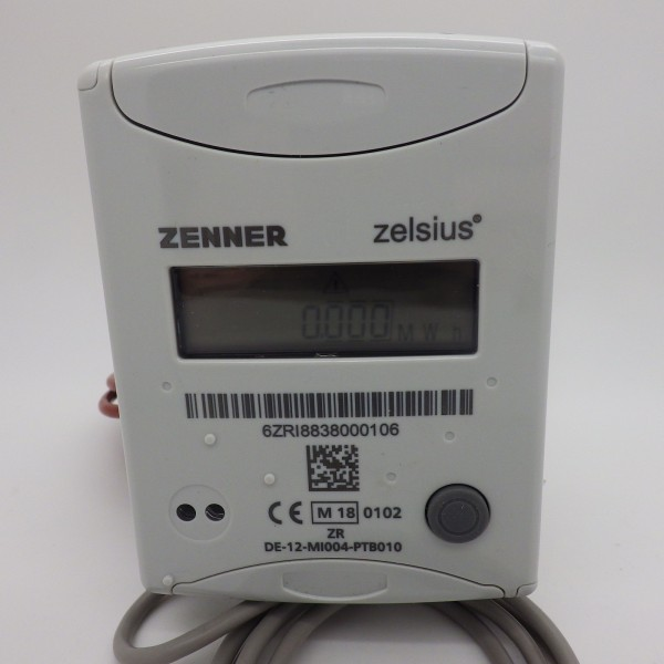 Eichung 2019 Wärmezähler Qn 0,6 110 mm DN 15 Ultraschall (IUF) 4 S