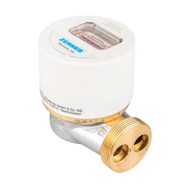 Zenner Messkapsel Warmwasser Modell MC, Q3 = 2,5