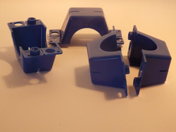 20 X Plomben für Wasserzähler QN 2,5 zweiteilig mit Bohrung